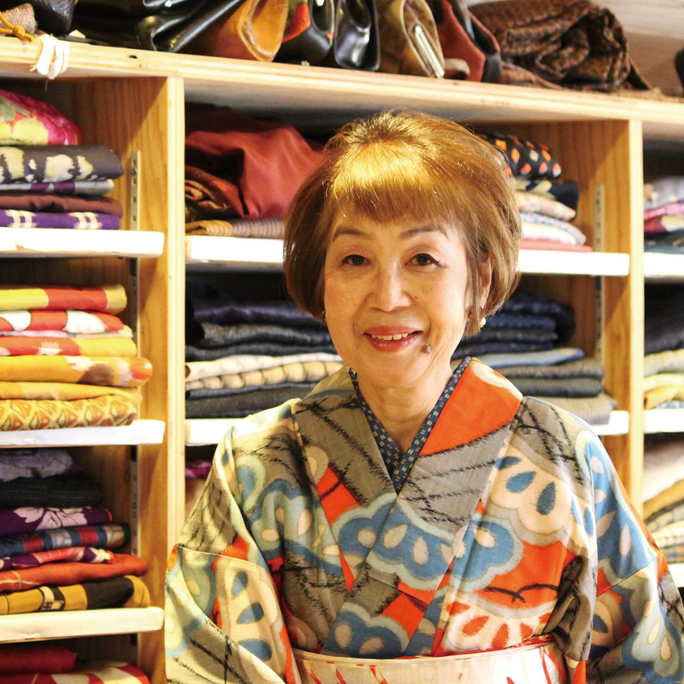 大切にしたい日本伝統の美 アンティークの着物レンタルします